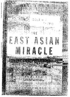 The east asian miracle world bank apologise