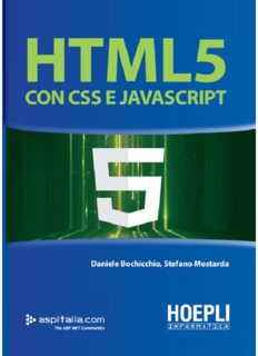 Html 5 Con Css E Javascript Pdf Download 291 Pages Free