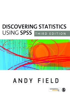 Discovering Statistics Using Spss Third Edition Pdf