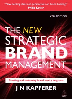 BRAND NAME PRODUCTS New Strategic Brand Management