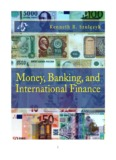 Money, Banking, and International Finance