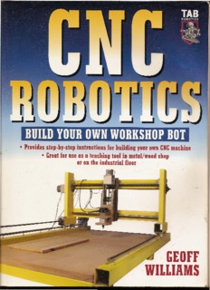 Cnc Robotics Geoff Williams Pdf Pdf Drive