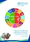 Women's health and well-being in Europe: beyond the mortality advantage