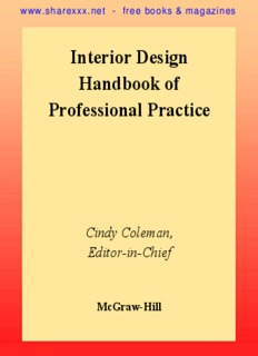 interior design handbook of professional practice pdf drive rh pdfdrive com interior design handbook of professional practice interior design handbook 2018