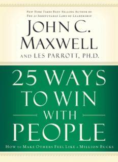 25 Ways to Win with People - John C. Maxwell