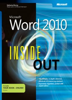 Office book guide ms 2010