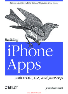 Building Iphone Apps With Html Css And Javascript Pdf 186 Pages