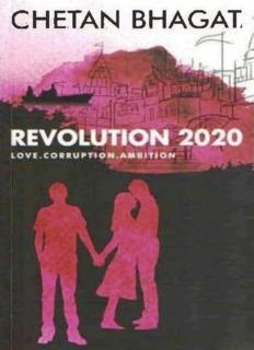 Revolution 2020 By Chetan Bhagat Pdf Drive