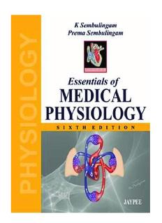Medical Physiology Pdf