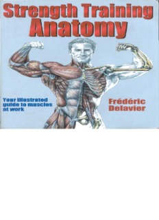 strength training anatomy pdf pdf drive