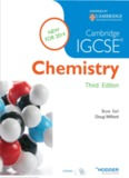 Cambridge IGCSE Chemistry – Earl, Bryan