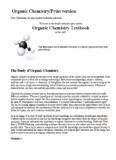Organic Chemistry/Print version Organic Chemistry Textbook