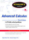 Schaum's Outline of Advanced Calculus, Third Edition (Schaum's