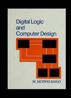 Morris Mano Digital Circuits Systems Pdf