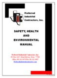 Safety, Health & Environmental Handbook