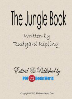 Book rudyard by pdf the jungle kipling