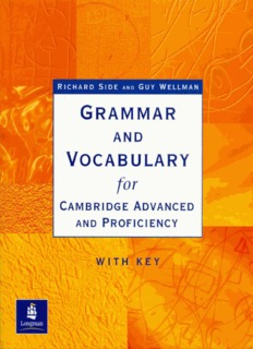 Longman-Grammar and Vocabulary for Cambridge Advanced and Proficiency