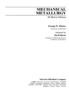 MECHANICAL - METALLURGY