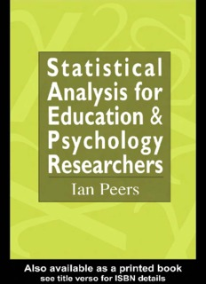 Statistical Analysis for Education and Psychology Researchers ( ebfinder.com ).pdf