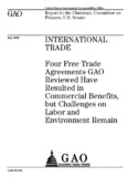 GAO-09-439 International Trade: Four Free Trade Agreements GAO