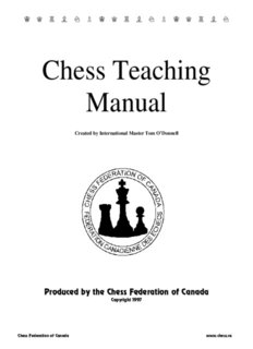 Chess Teaching Manual.pdf - The Chess Federation of Canada