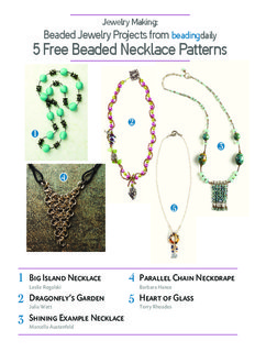 Jewelry Making: Beaded Jewelry Projects from 5 Free Beaded