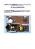 LCD TV Power Supply (IP BOARD) Schematic Diagram & Repair