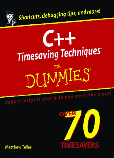 Wiley - C++. Timesaving Techniques for Dummies 2005.pdf