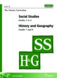 Social Studies/History & Geography