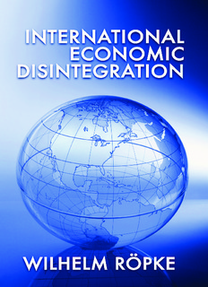International Economic Disintegration.pdf