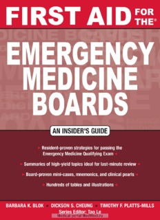 First Aid for the Emergency Medicine Boards ( ebfinder.com ).pdf