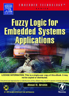 Fuzzy Logic For Embedded Systems Applications Pdf