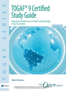 TOGAF® 9 Certified Study Guide 2nd Edition - van Haren Publishing