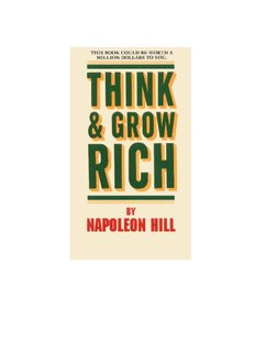 Think and Grow Rich by Napoleon Hill - devNIC