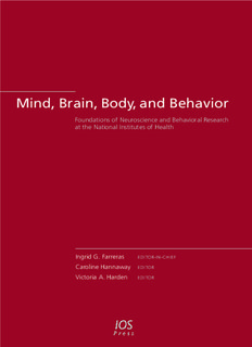 Mind, Brain, Body, and Behavior