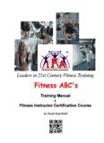 FITNESS ABCs - International Fitness Association