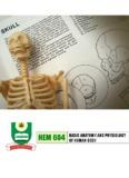 BASIC ANATOMY AND PHYSIOLOGY HEM 604 OF HUMAN BODY