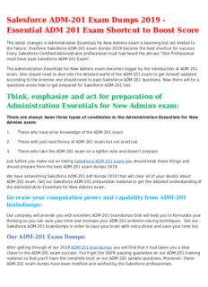 Get ADM-201 Mock Exam In Lower Cost