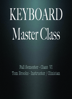 Keyboard Master Class - Tom Brooks Music ( ebfinder.com ).pdf