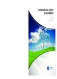 ENVIRONMENTAL SCIENCE & ENGINEERING - CRC Press