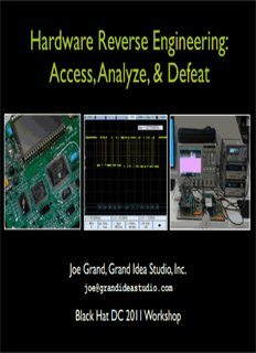 Hands-On Hardware Hacking and Reverse Engineering