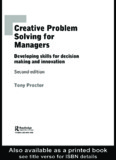 Creative Problem Solving for Managers - rudyct's Academic Page