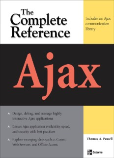 AJAX - The Complete Reference.pdf