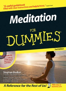 Meditation For DUMMIES, 2nd Edition