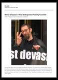 Simon Chapman, A Very Distinguished Fucking Anarchist