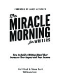 Miracle Morning for Writers – PDF