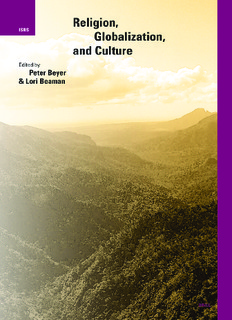 beyer and beaman - religion, globalization and culture (2007).pdf