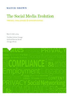 The Social Media Evolution