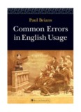 Common Errors in English by Paul Brians