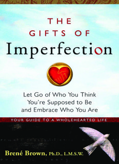 Gifts of Imperfection - Hazelden